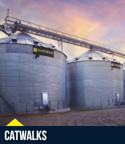 Superior Grain Equipment – Roof Accessories / Catwalks
