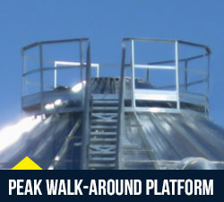 Superior Grain Equipment – Roof Accessories / Walk around Platforms