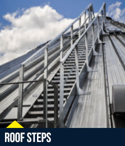 Superior Grain Equipment – Roof Accessories / Stairs & Handrails