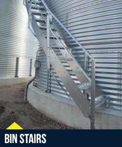 Stiffened Farm Bins | Superior Manufacturing