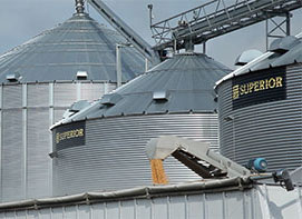 Superior Grain Equipment - Farm Grain Storage Bins